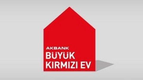 Akbank'ın Büyük Kırmızı Ev'i Anadolu Yollarında