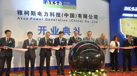 Aksa Jeneratör Çin'de Yeni Fabrika Açtı