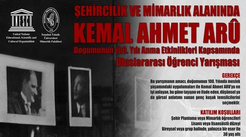 Kemal Ahmet Aru Anısına Uluslararası Öğrenci Yarışması