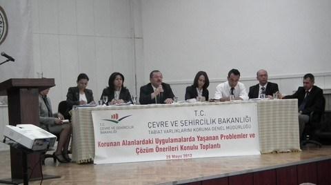 Tabiat Varlıklarını Koruma Genel Müdürlüğü Muğla Toplantısı Yapıldı