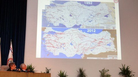 Güncellenen Diri Fay Haritası'na Göre Türkiye'deki Diri Fay Sayısı 326