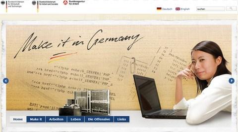 Almanya'da Çalışmak İsteyenler için Portal