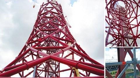 Layher İskele Kulesi 'Olympik Orbit'e Çıkıyor