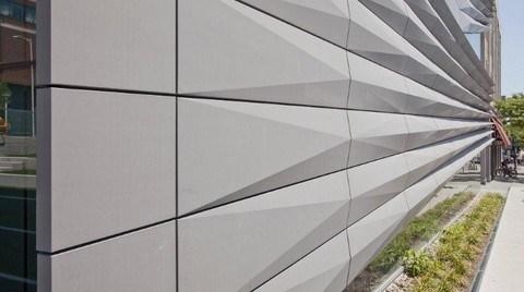 Cephelerde Eskimeyen Estetik için VMZINC® Titanyum Çinko Kompozit