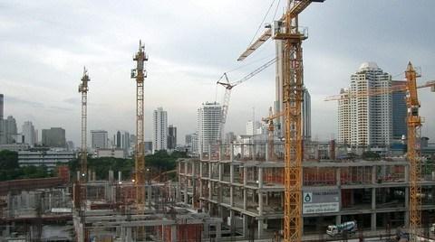 İnşaat Sektörü İlk Çeyrekte Yüzde 2,8 Büyüdü