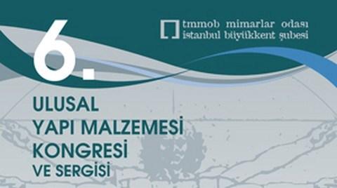 6. Ulusal Yapı Malzemesi Kongresi