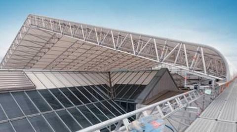XL Çatı Koruma Sistemi Hareket Ediyor