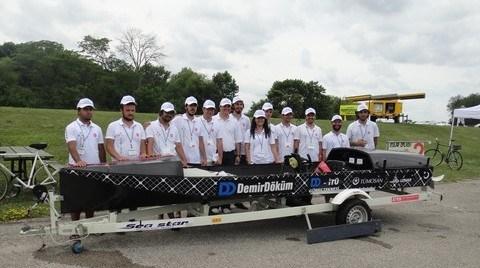 """DemirDöküm - İTÜ Güneş Teknesi, """"Solar Splash"""" Yarışmasında Dünya Şampiyonu Oldu"""