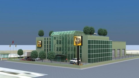 JCB'nin Dünyadaki İlk LEED® Gold Sertifikalı Distribütör Tesisi Ankara'da Yükselecek