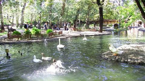 Kuğulu Park Yenileniyor