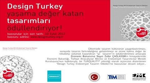 Design Turkey Endüstriyel Tasarım Ödülleri 2012