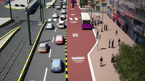 İstanbul'da 'Otobüs Yolu' Uygulaması Başlıyor