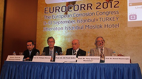 İstanbul'da Başlayan 'EUROCORR 2012' Katılım Rekoru Kırdı