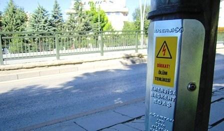 Ankara'da Aydınlatma Direkleri Artık Daha Güvenli