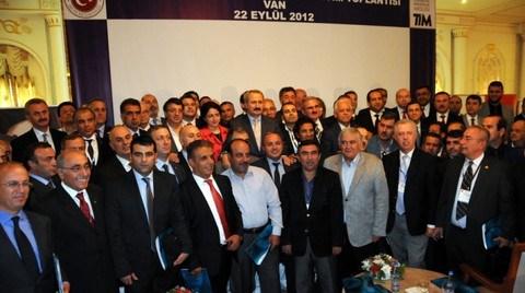 TİM'den Van'a Yeni Teşvik Sistemi Gezisi