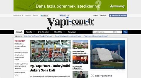 Yapı Sektörünün Haber Portalı yapi.com.tr Yenilendi!
