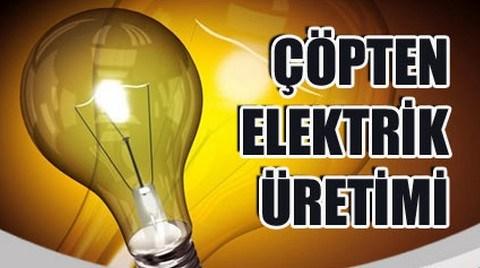 Kütahya'da Çöpten Elektrik Enerjisi Üretilecek