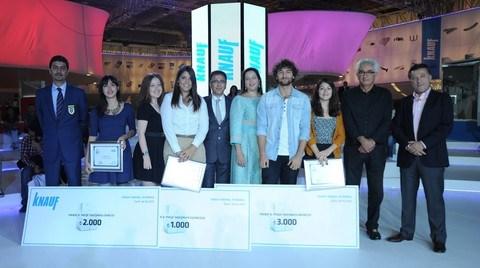 Knauf 8. Proje Yarışması'nın Kazananları Ödüllerini Aldı