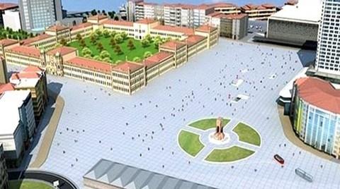 """""""Taksim Yayalaştırma Projesi'nin Gümüşsuyu Ayağından Vazgeçilebilir"""""""