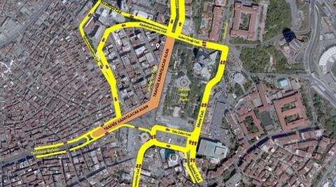 Taksim Meydanı Yayalaştırma Çalışmalarına Koruma Kurulu Kararıyla Başlandı