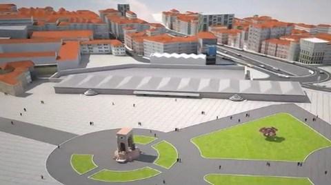 Taksim Projesi Nedeniyle Toplu Taşıma Araçlarının Güzergahı Değişti
