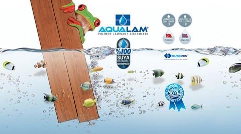 Yüzde Yüz Suya Dayanıklı Parke: AQUALAM