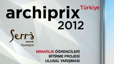 Archiprix-TR 2012 Kolokyum, Ödül Töreni, Sergi Açılışı