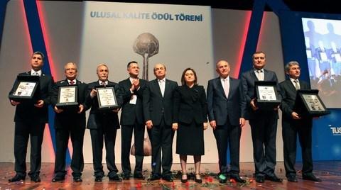 Kalite Ödülleri Boytaş, İstikbal, Petkim, Şanlıurfa ve Tarsus Belediyelerinin