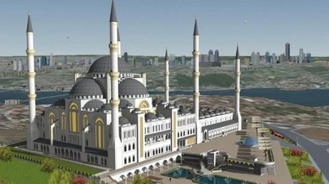 Erdoğan Çamlıca Camisi'ni Beğendi, Taksim'e de Cami Yapılacak