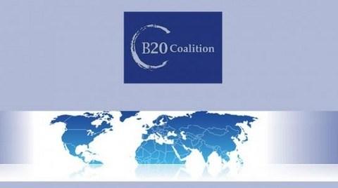 G20 Ülkelerinin İş Örgütleri B20 Koalisyonu Kurdu