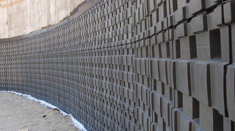 DEFENDER® Toprak Altı Bodrum Duvarları İçin Plastik Koruyucu Levha