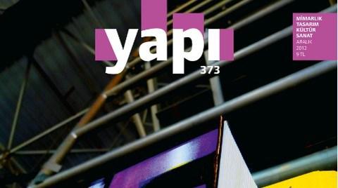 YAPI Dergisi'nin ARALIK Sayısı Çıktı