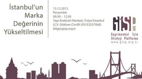 Gayrimenkul için Strateji Toplantıları 1: İstanbul'un Marka Değerinin Yükseltilmesi