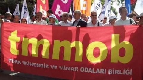 TMMOB Yasası İmza Kampanyası Başladı