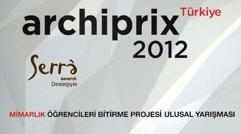Archiprix-TR 2012 Sonuçları Açıklandı