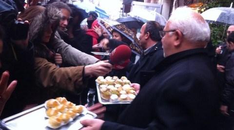 İnci Pastanesi Tahliye Ediliyor