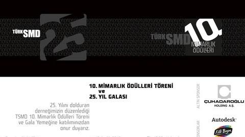 TSMD 10. Mimarlık Ödülleri Sahiplerini Buluyor