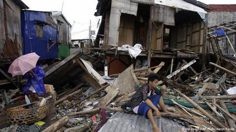 Filipinler'de Bopha Bilançosu Ağır