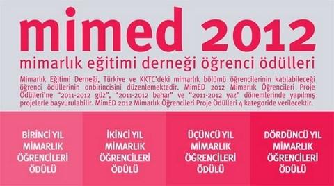 MİMED 2012 Mimarlık Öğrencileri Proje Ödülleri Dağıtıldı