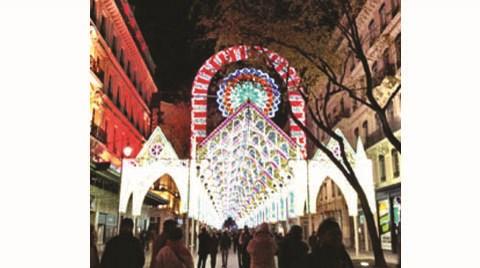 """Gittim-gördüm-yazdım: """"Lyon'da Işık Festivali"""""""