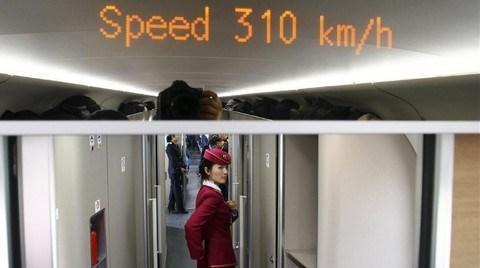 Çin Dünyanın En Uzun Hızlı Tren Hattını Hizmete Aldı