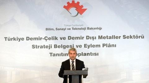 Demir Çelik Strateji Belgesi'nin Vizyonu 'Üretim Üssü' Olmak