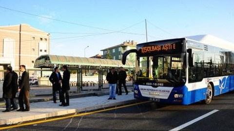 Ankara da 'Metrobüs'le Tanışıyor