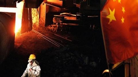 Çin'in 2012'de Yüksek Ölçekli Sanayi Büyüme Oranı %10 Olacak