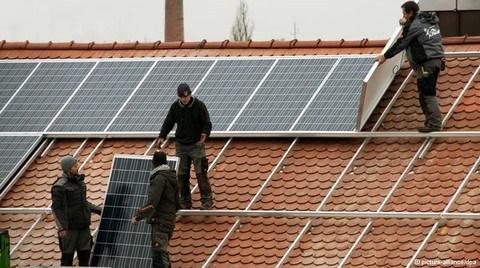 Almanya'da Güneş Enerjisinin Elektrik Üretimindeki Payı % 45 Arttı