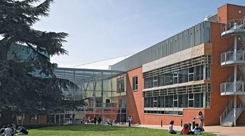 West Thames Koleji, Londra, İngiltere (Mackenzie Wheeler Architects)