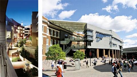 Cincinnati Üniversitesi, J.A. Steger ÖYM Ohio, ABD (Moore Ruble Yudell Architects&Planners)