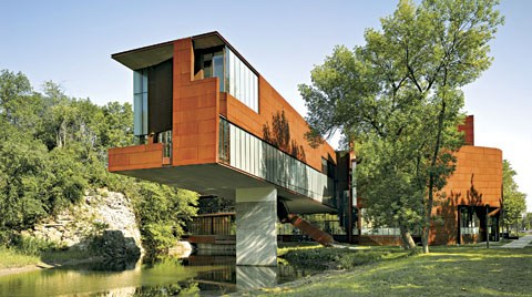 Iowa Üniversitesi Sanat ve Sanat Tarihi Okulu, ABD (Steven Holl Architects)