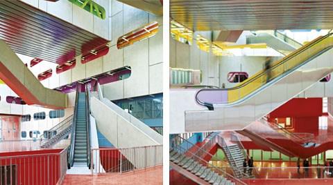 Jussieu Üniversitesi Kampusu 16M Binası, Paris, Fransa (Périphériques Architects)