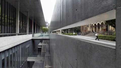 Brüt Beton - Fukutake Hall Tokyo Üniversitesi